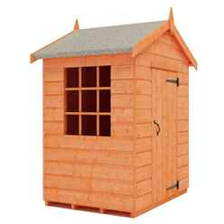 3ft x 4ft Mini Den Playhouse (12mm Tongue and Groove Floor and Roof)