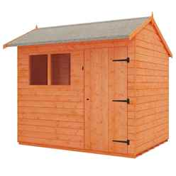 8ft x 6ft Reverse Tongue and Groove Shed (12mm Tongue and Groove Floor and Reverse Apex Roof)