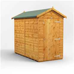 8ft x 4ft Premium Tongue and Groove Apex Shed - Single Door - Windowless - 12mm Tongue and Groove Floor and Roof