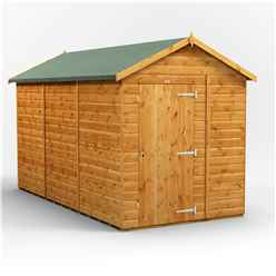 12ft x 6ft Premium Tongue and Groove Apex Shed - Single Door - Windowless - 12mm Tongue and Groove Floor and Roof