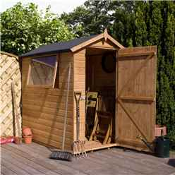 7ft x 5ft Premier Tongue & Groove Apex Shed Single Door + 1 Window (12mm T&G Floor)