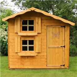 Snowdrop Cottage Playhouse - Double Storey - 7ft x 5ft