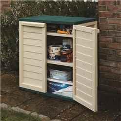 "2'5"" x 1'7"" Rowlinson Plastic Utility Cabinet  (750mm x 500mm)"