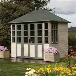 9ft x 7ft Chatsworth Rowlinson Summerhouse (T&G Floor)