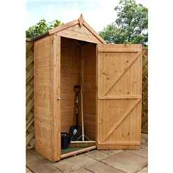 "3ft 2"" x 2ft (0.99m x 0.59m) Sentry Box With Single Door"