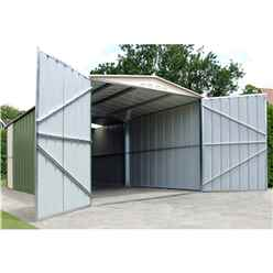 10ft x 19ft Premier Metal Garage (3.07m x 5.88m)