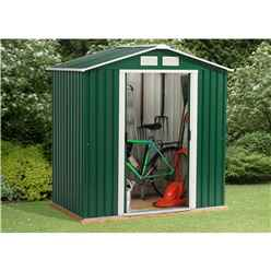 6ft x 8ft Value Metal Shed (2.01m x 2.42m)