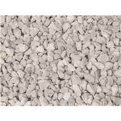 10mm White Limestone Gravel - Bulk Bag 850 Kg