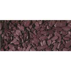 40mm Plum Slate Gravel - Bulk Bag 850 Kg