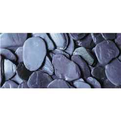 Blue Paddlestones Gravel - Bulk Bag 850 Kg