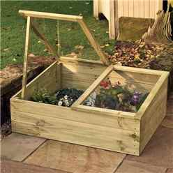 "Rowlinson Timber Coldframe 3'4"" x 2''7"" (1.02m x 0.81m)"