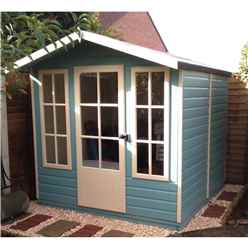 7ft x 7ft (2.05m x 1.98m) - Bloomfield Summerhouse - 12mm T&G Floor & Roof