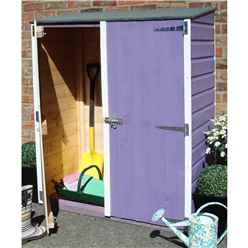 2ft x 4ft Tongue & Groove Garden Store (11mm Solid OSB)