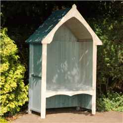 "4ft 5"" x 2' 4"" Stowe Seat Arbour"