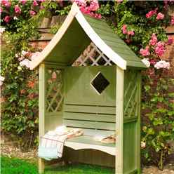 "4ft 1"" x 2ft 1"" Stowe Seat Arbour"