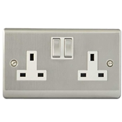 Electric Pack 4 (8 Double Sockets + 4 Lighting Feed + Outdoor Light And Sensor + 2 Network And Telephone Socket)