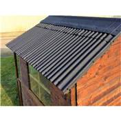 8ft x 6ft WaterShed Slate Effect Roofing Alternative