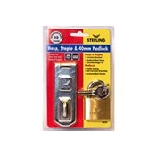 Brass Double Locking Padlock