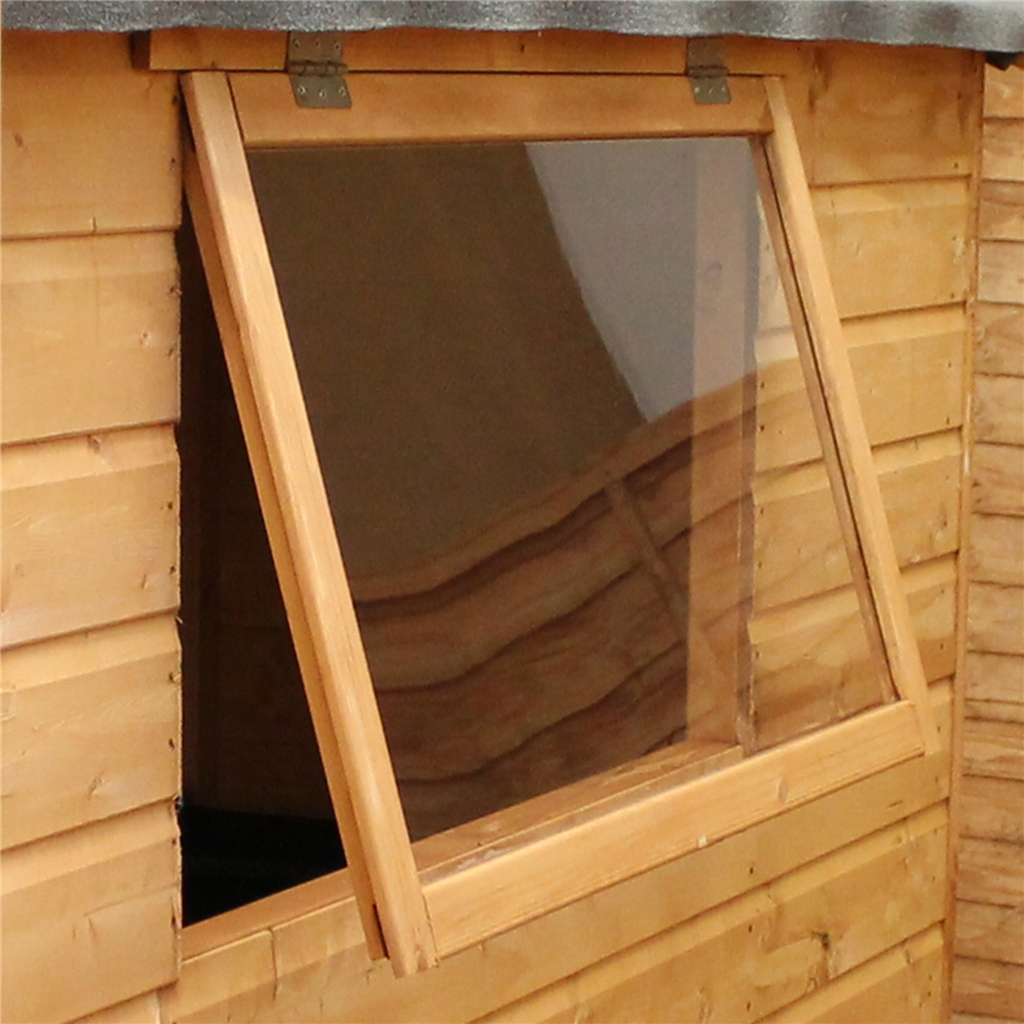ShedsWarehouse com | OXFORD WORKSHOPS | 16ft x 10ft (4 88m x 3 05m) Deluxe  Tongue & Groove Workshop With Double Doors + 4 Windows (12mm T&G Floor)