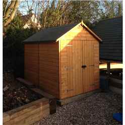 Shedswarehouse Com Rowlinson 8ft X 6ft Deluxe