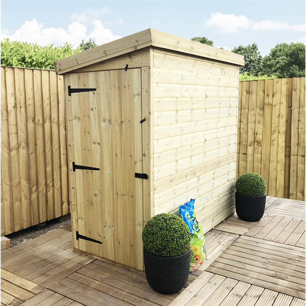 Aston 3ft x 8ft windowless pressure for 12x8 shed with side door