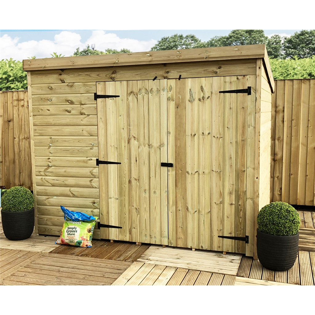 Shedswarehouse Com Aston 7ft X 5ft Windowless Pressure