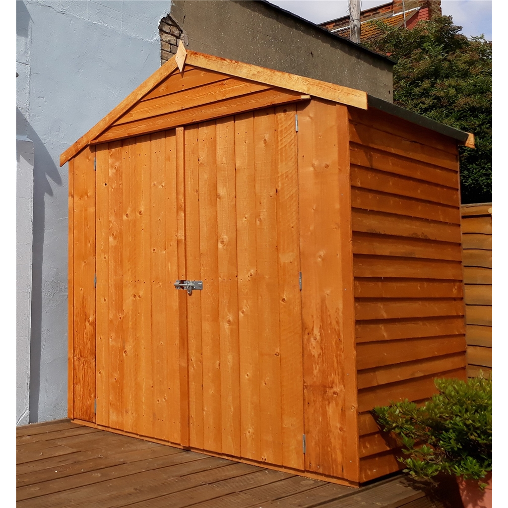 Stowe 4ft x 6ft dip treated overlap for Apex garden sheds