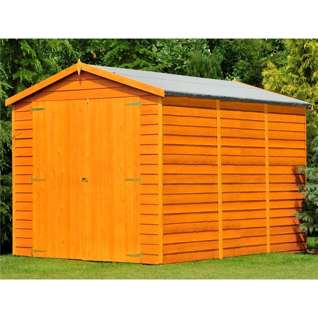 Stowe 12ft x 6ft dip treated for 12x8 shed with side door