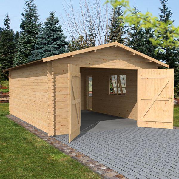 Premium garage shed motorbike bike wooden storage log for Garage apartment plans ebay
