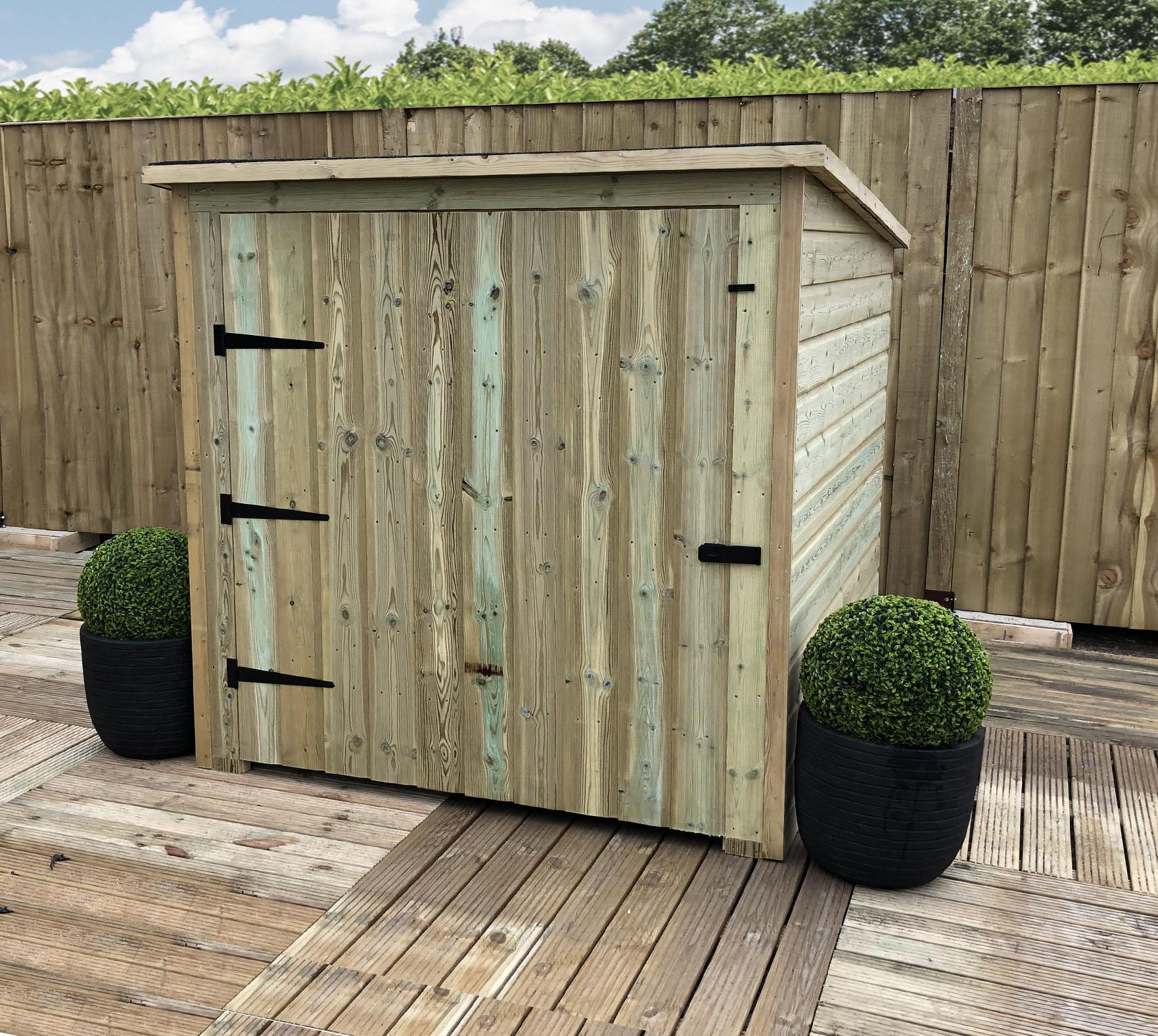 Shedswarehouse Com Aston All Storage 6ftx 4ft Pressure