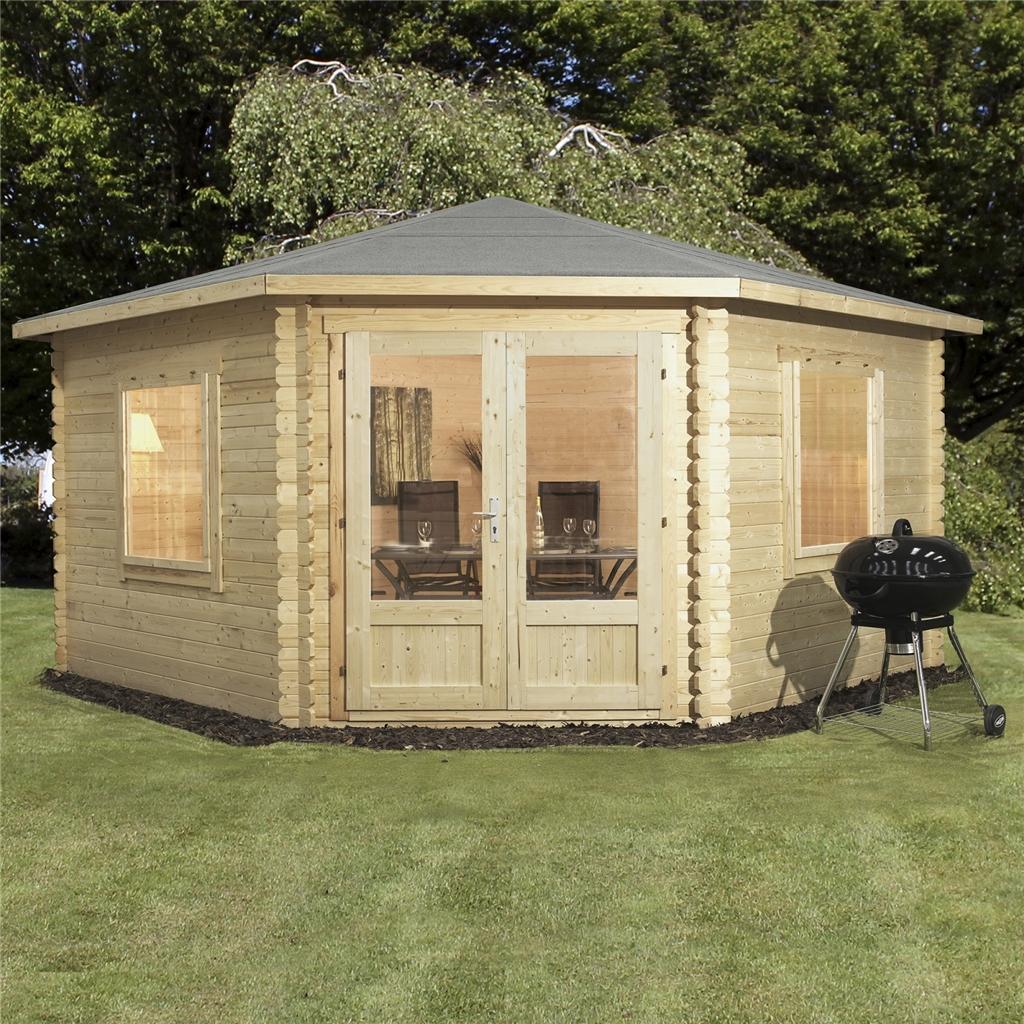 Oxford Log Cabins 4m X 4m Ohio