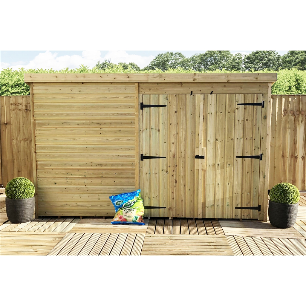 Shedswarehouse Com Aston 9ft X 3ft Windowless Pressure