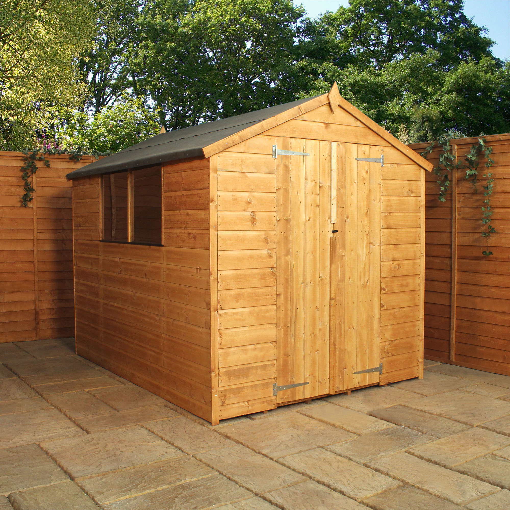 Shedswarehouse Com Oxford 8ft X 8ft 2 25m X 2 25m
