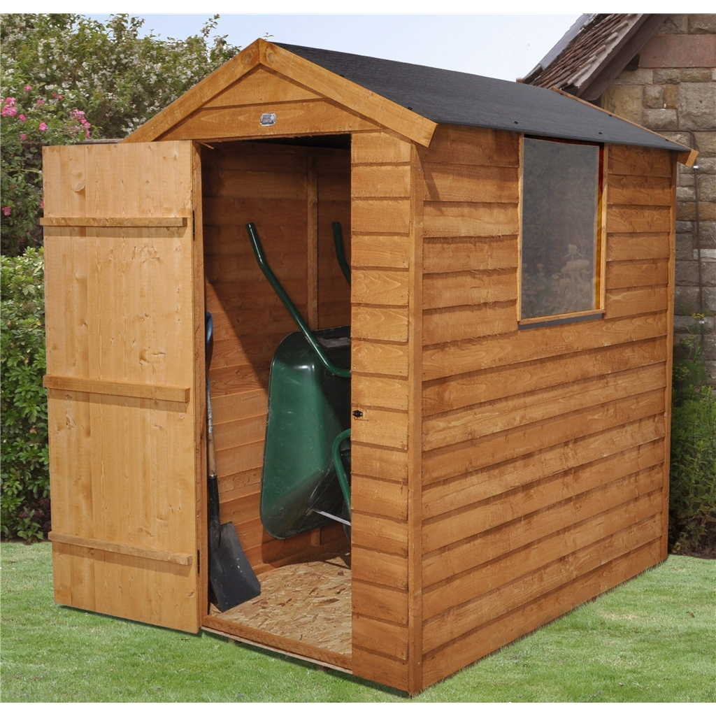 6ft X 4ft Overlap Apex Shed