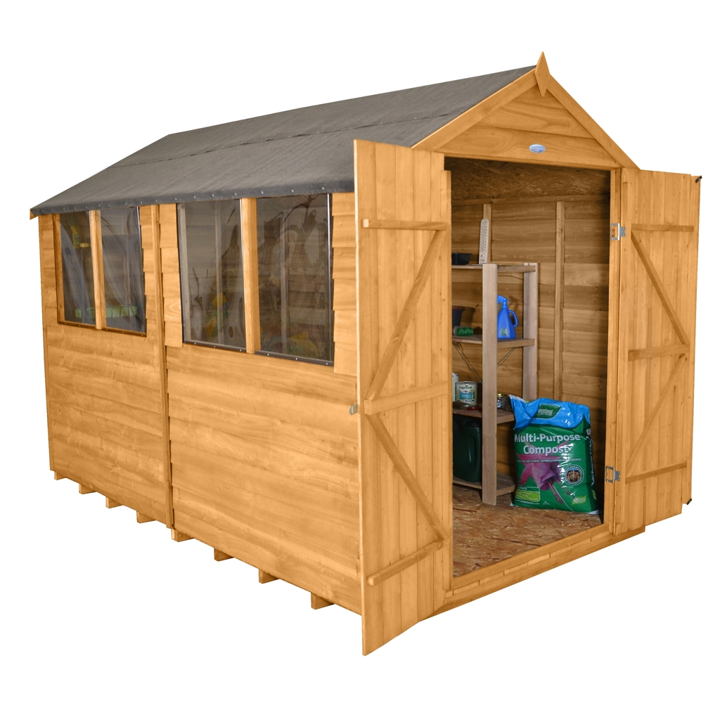 Shedswarehouse Com Hanbury Installed 10ft X 8ft 3 1m