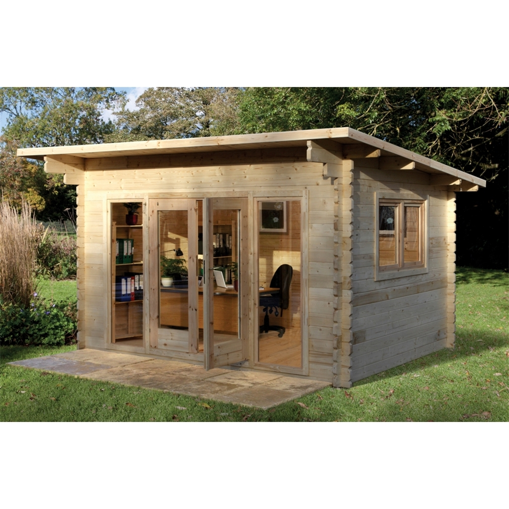 Shedswarehouse Com Hanbury Log Cabins 4m X 3m Log