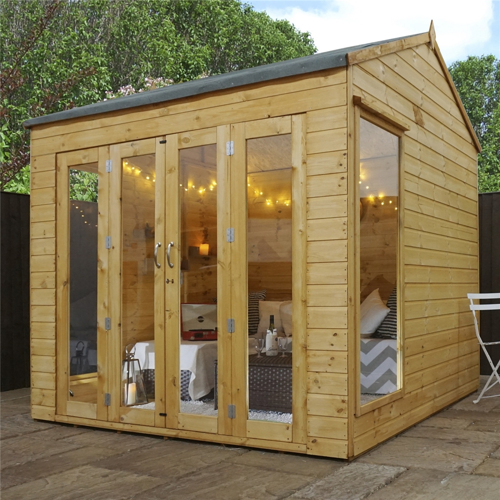 Shedswarehouse Com Oxford Summerhouses 8ft X 8ft 2 5m