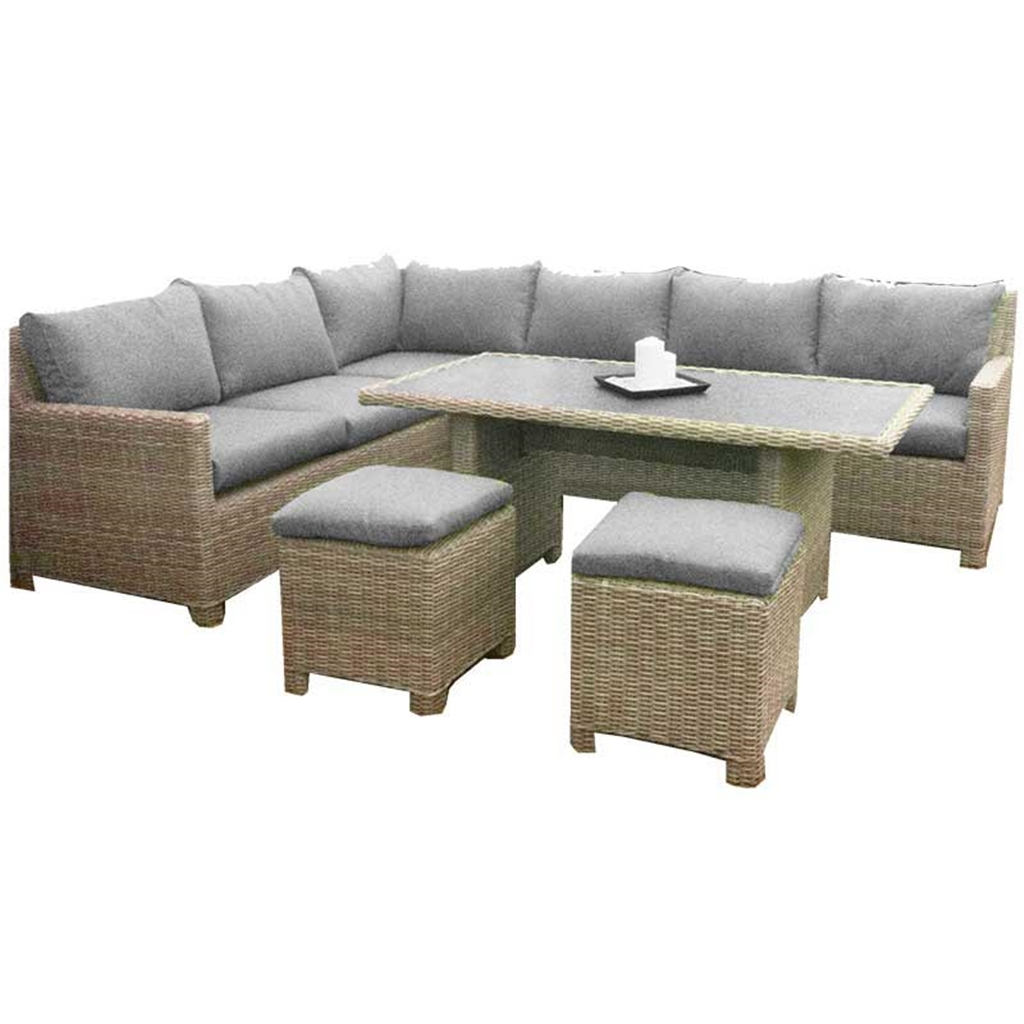 Garden Furniture Wentworth Rattan Collection 8 Seater Wentworth Deluxe