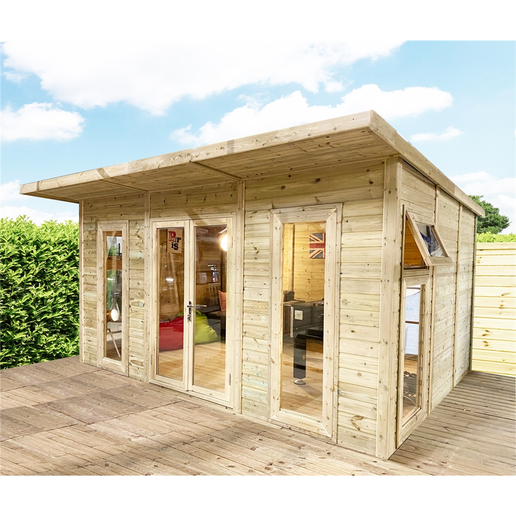 terrific insulated garden room | ShedsWarehouse.com | OXFORD INSULATED GARDEN ROOMS | Avon ...