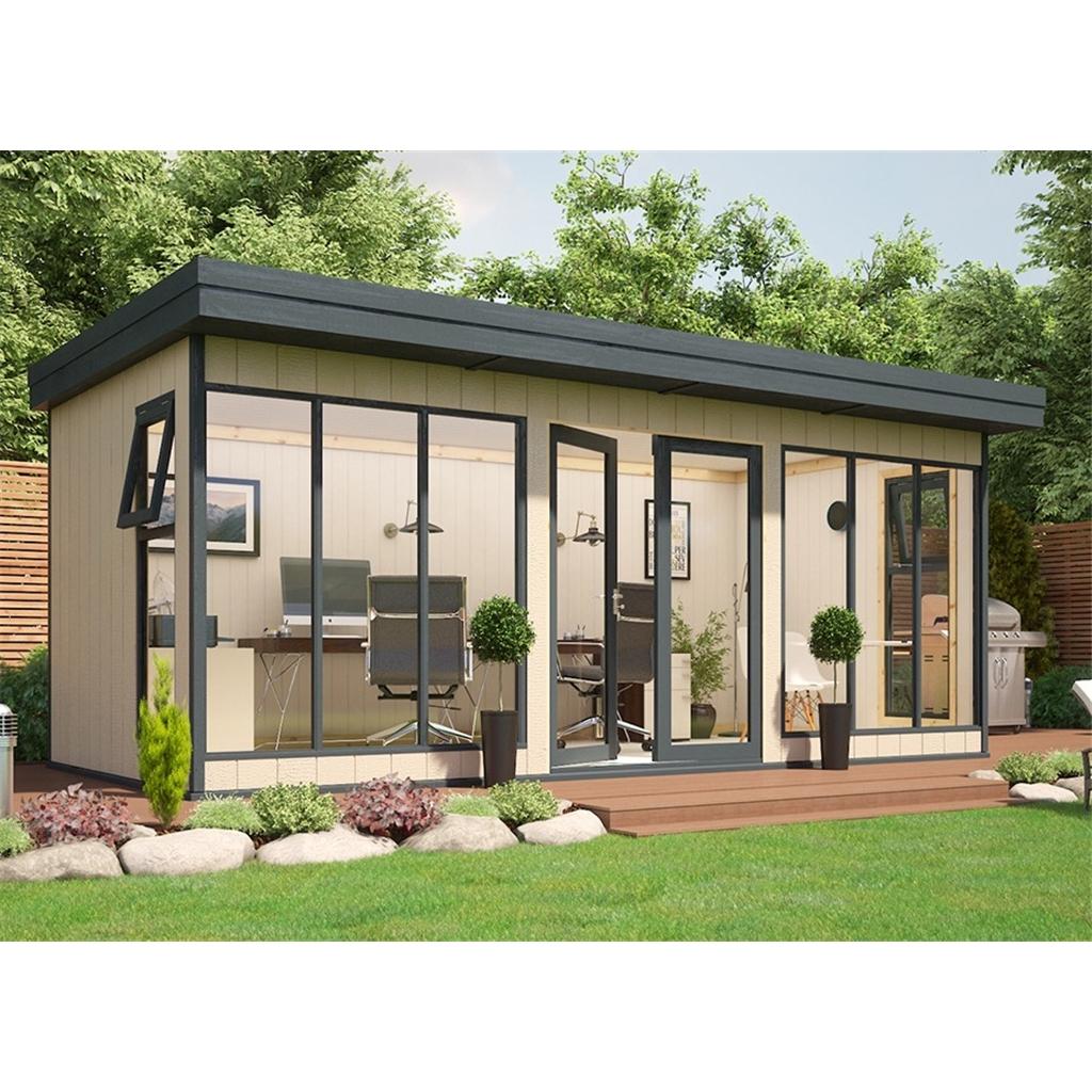 Shedswarehouse Com Pt Insulated Garden Buildings 8ft X