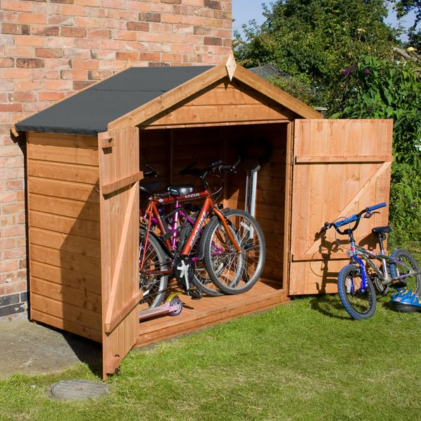 Shedswarehouse Com Oxford Bike Store 7ft X 3ft 2 01m