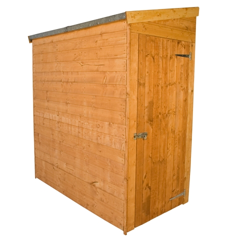Tongue and groove shed door