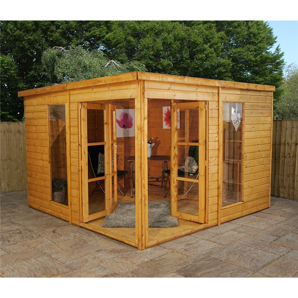 Shedswarehouse Com Oxford Summerhouses 10ft X 10ft 3