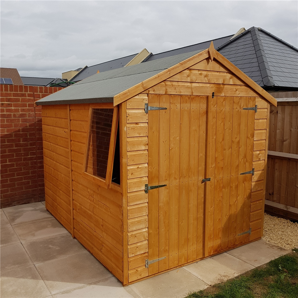 Shedswarehouse Com Stowe Workshops 8ft X 6ft 2 38m X