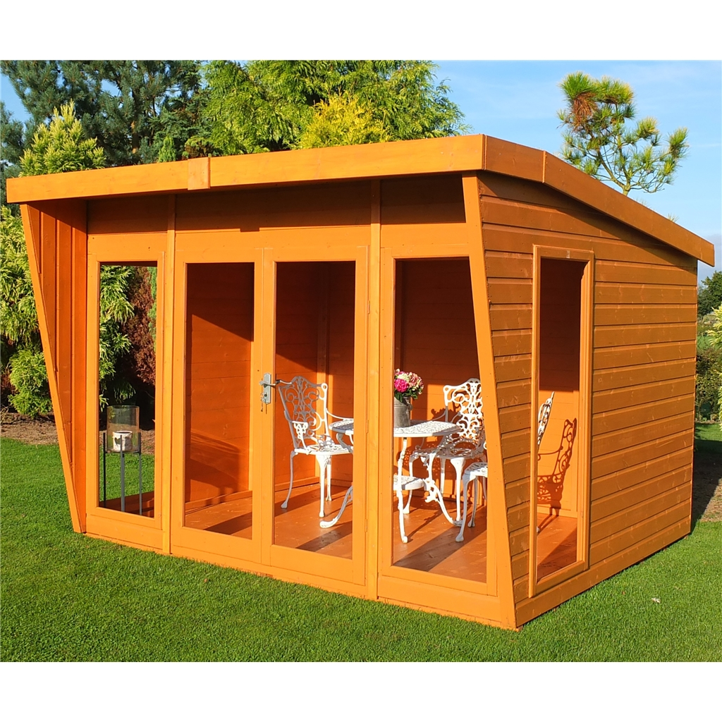 20 Summer House Design Ideas: Diy Garden Summer House Plans