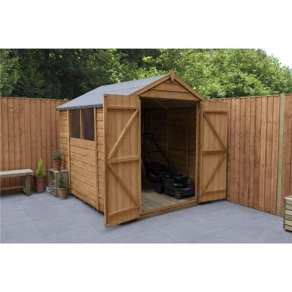 Hanbury 8ft x 6ft double door for Apex garden sheds