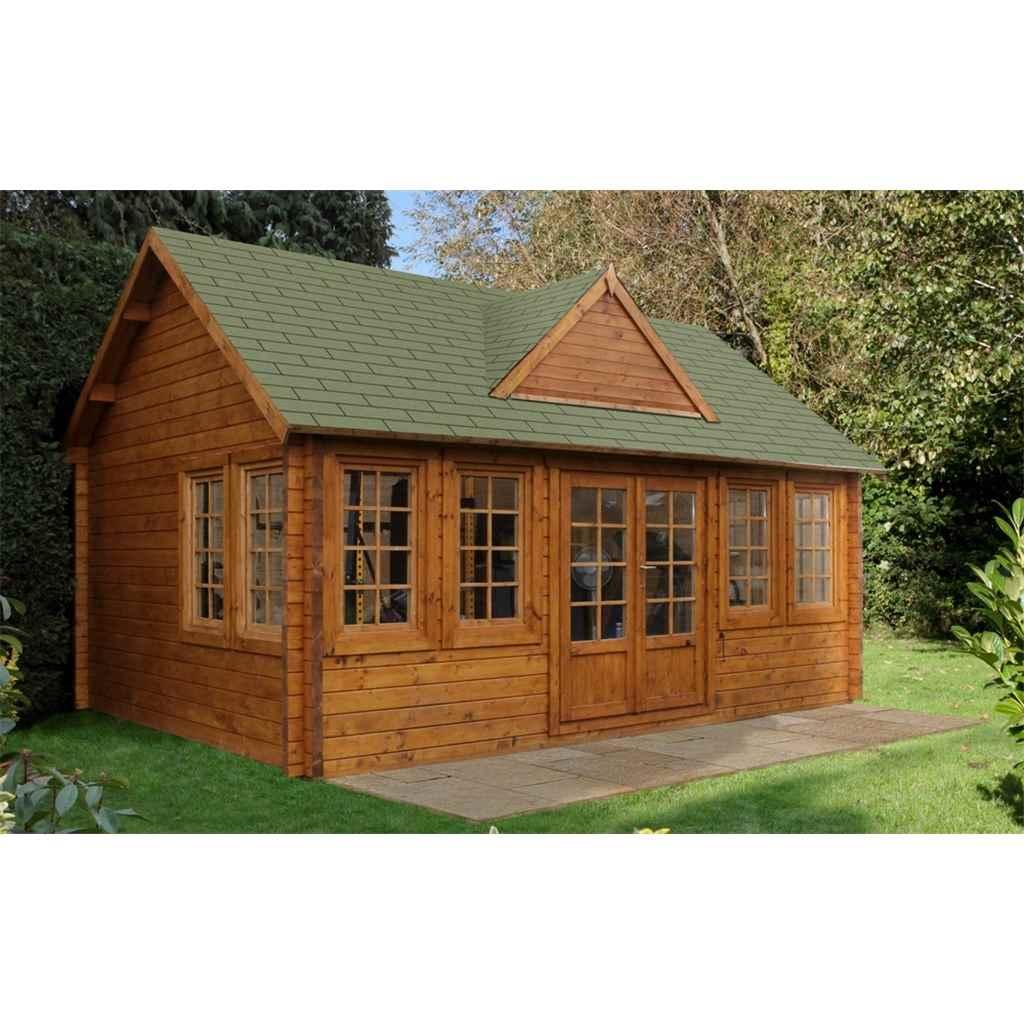Hanbury Log Cabins X 4m Log