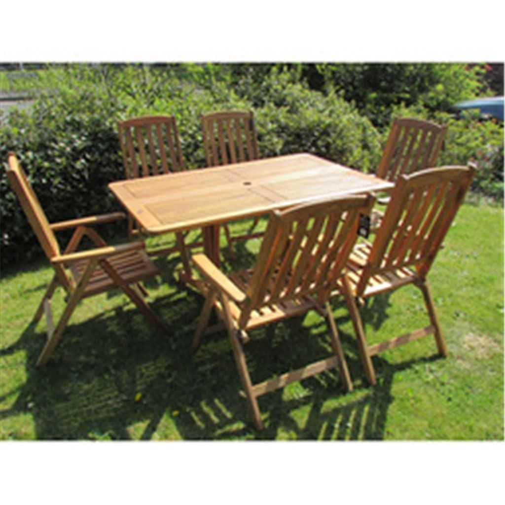 click to enlarge - Garden Furniture 6 Seater
