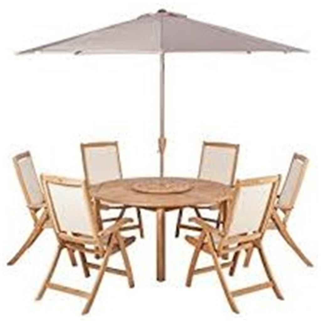 ShedsWarehouse.  Garden Furniture   Teak Collection   6 Seater