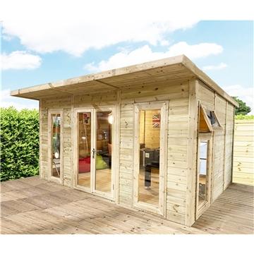 Oxford insulated garden rooms avon for Insulated garden buildings